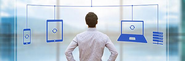 Der Verlust von Unternehmensdaten ist existenzbedrohend. Unsere IT-Profis kontrollieren mit Managed Services regelmäßig Ihre IT-Infrastruktur.