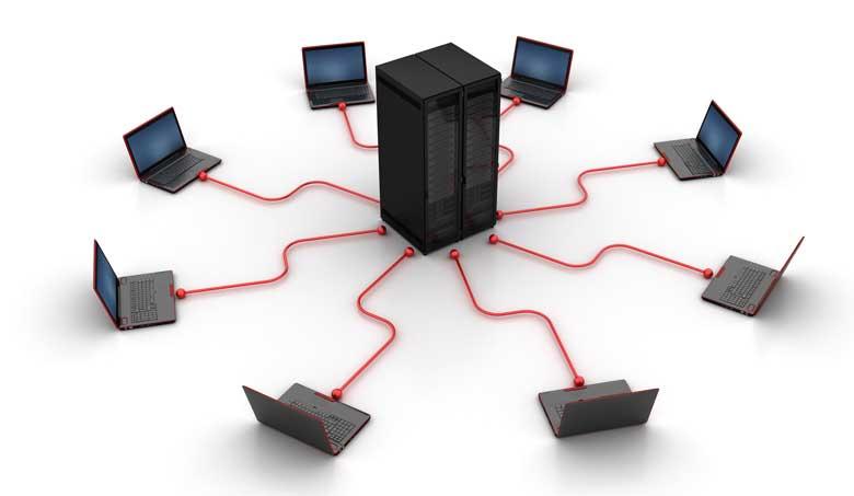 Wir verbinden alles. Ihr Netzwerk und die dazugehörige Software und zusätzlich für das Mobile-Arbeiten auch diese Geräte.