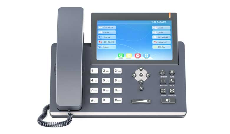 Eine zeitgemäße Voice over IP Lösung kann kinderleicht an zum Beispiel Mobiltelefon angebunden werden. So sind Sie immer und überall erreichbar.